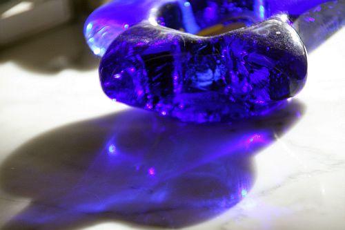 Glas-Blau 005