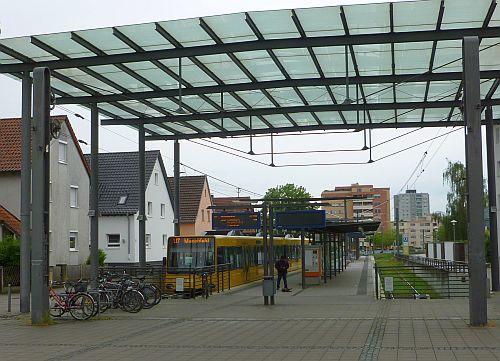 Stadtbahn-Endhaltestelle Ostfildern