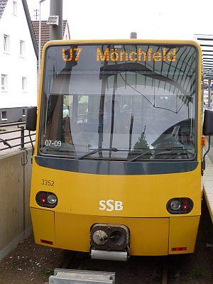 Mit der Stadtbahn in einer halben Stunde in Stuttgart