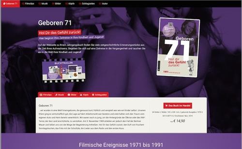 Die Internetseite zum Buch, Abbildung: (c) Wartberg Verlag