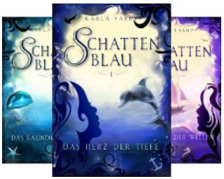Komplette Schattenblau-Trilogie