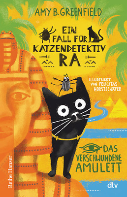 Cover Katzendetektiv Ra. Bd. 1